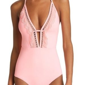 Laundry by shelli Begal pink double tie back med
